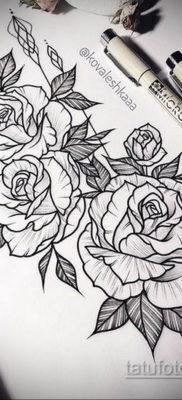 тату эскизы женские пример 14.09.2019 №017 – tattoo sketches for women – tatufoto.com