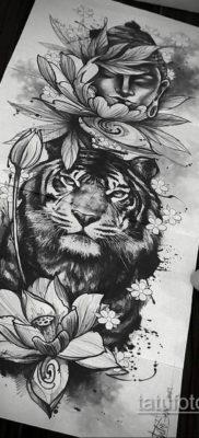 тату эскизы женские пример 14.09.2019 №030 – tattoo sketches for women – tatufoto.com