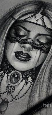 тату эскизы женские пример 14.09.2019 №037 – tattoo sketches for women – tatufoto.com