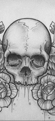тату эскизы женские пример 14.09.2019 №043 – tattoo sketches for women – tatufoto.com