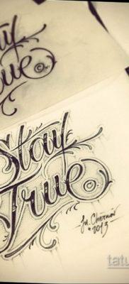 тату эскизы надписи 14.09.2019 №009 – tattoo sketches lettering – tatufoto.com
