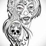 эскизы тату женские цветные 14.09.2019 №020 - female color tattoo sketches - tatufoto.com