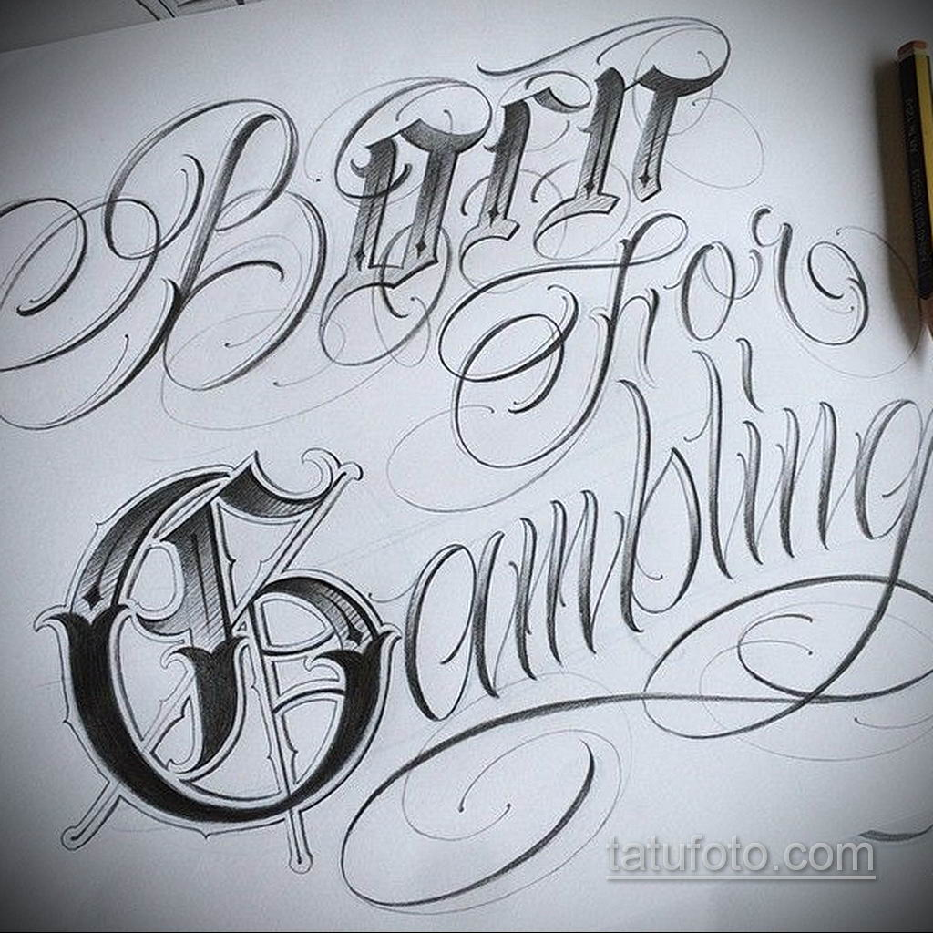 эскизы тату на руку надписи 14.09.2019 №003 - hand lettering tattoo sketches - tatufoto.com