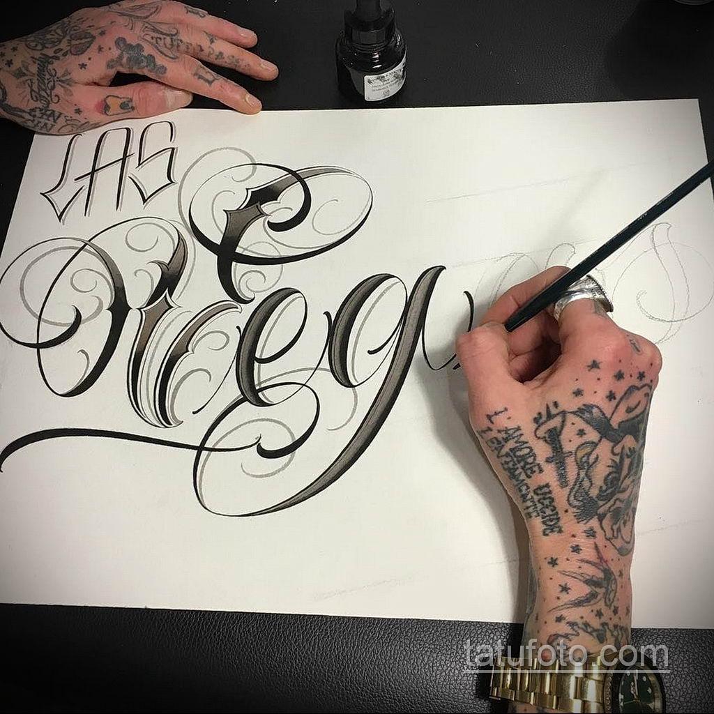 эскизы тату на руку надписи 14.09.2019 №006 - hand lettering tattoo sketches - tatufoto.com