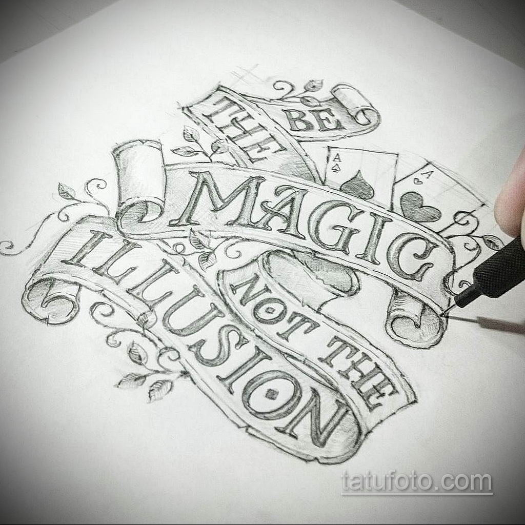 эскизы тату на руку надписи 14.09.2019 №010 - hand lettering tattoo sketches - tatufoto.com