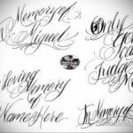 эскизы тату на руку надписи 14.09.2019 №015 - hand lettering tattoo sketches - tatufoto.com