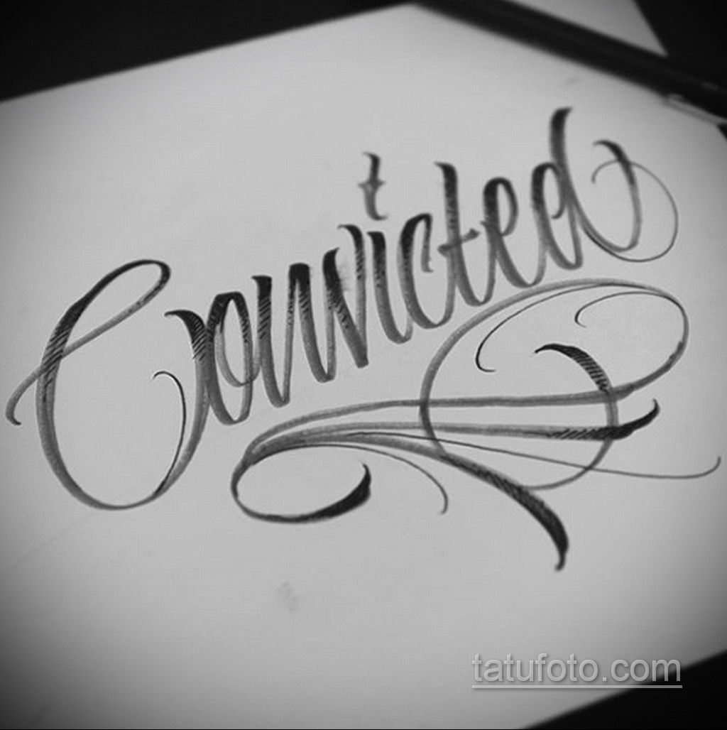 эскизы тату на руку надписи 14.09.2019 №017 - hand lettering tattoo sketches - tatufoto.com
