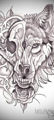 эскизы тату черепа животных 17.09.2019 №007 – animal skull tattoo designs – tatufoto.com