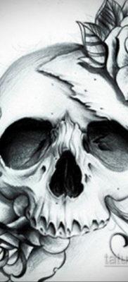 эскизы тату черепа красивые 17.09.2019 №013 – Skull tattoo designs beautiful – tatufoto.com