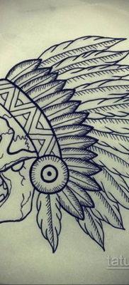 эскизы тату черепа на ногу 17.09.2019 №017 – Sketch of a tattoo of a skull on – tatufoto.com