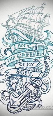 эскиз для тату корабль олд скул 27.09.2019 №018 -sketch frigate tattoo- tatufoto.com