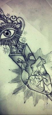 эскиз для тату нож глаза 23.09.2019 №005 – sketch for tattoo knife eyes – tatufoto.com