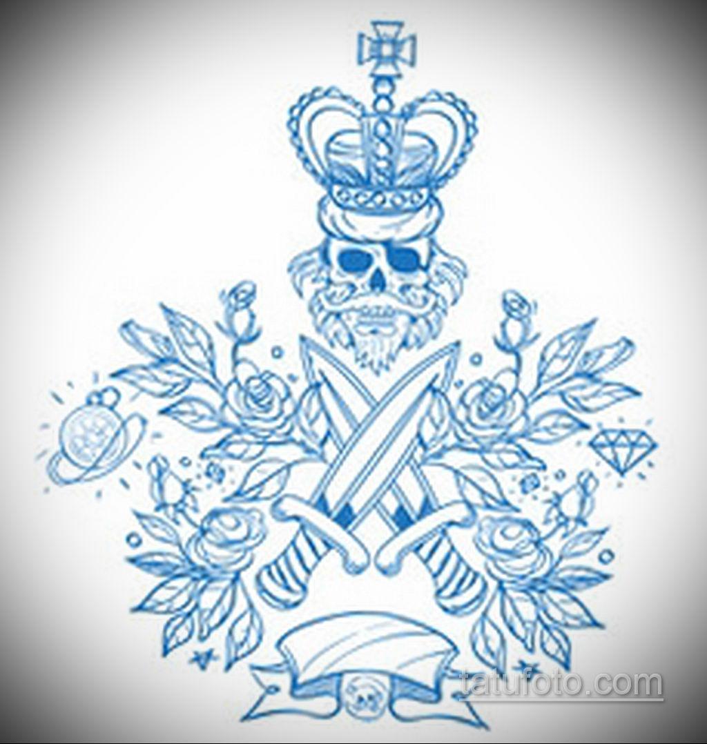 эскиз для тату нож на руке 23.09.2019 №011 - sketch for tattoo knife on hand - tatufoto.com