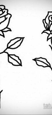 эскиз для тату простая черно белая 15.09.2019 №045 – sketch for tattoo simpl – tatufoto.com