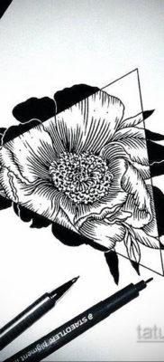эскиз для тату простая черно белая 15.09.2019 №051 – sketch for tattoo simpl – tatufoto.com