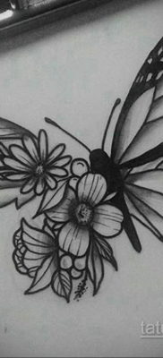 эскиз для тату простая черно белая 15.09.2019 №070 – sketch for tattoo simpl – tatufoto.com