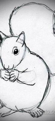 эскиз для тату простые животные 15.09.2019 №014 – sketch for simple animal – tatufoto.com