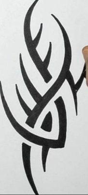 эскиз для тату простые узоры 15.09.2019 №008 – sketch for tattoo simple patt – tatufoto.com