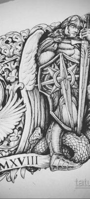 эскиз для тату часов на предплечье 19.09.2019 №006 – sketch for watch tatto – tatufoto.com