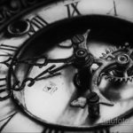 эскиз для тату часы реализм 19.09.2019 №003 - sketch for tattoo watches rea - tatufoto.com