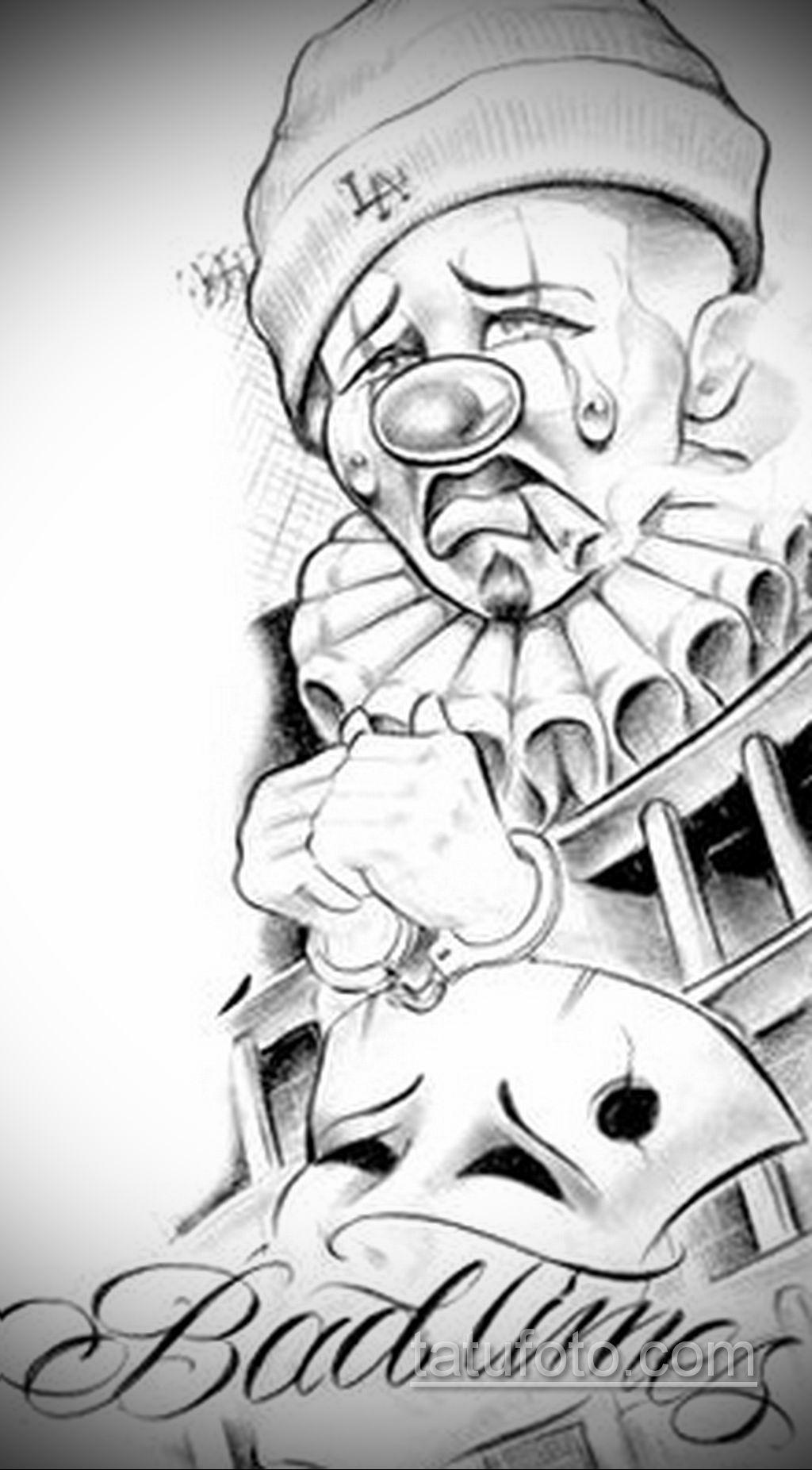 эскиз тату надпись чикано 14.09.2019 №039 - Chicano tattoo sketch - tatufoto.com
