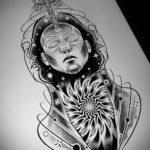 эскиз тату на щиколотке женские 14.09.2019 №002 - sketch of ankle tattoo - tatufoto.com