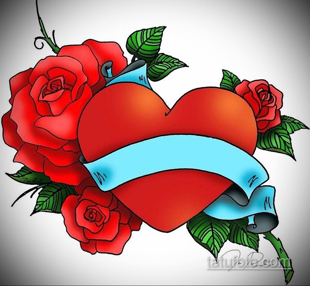 эскиз тату роза с надписью 14.09.2019 №007 - sketch rose tattoo with the ins - tatufoto.com