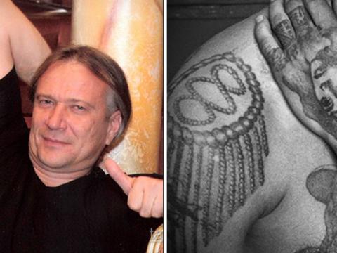 Смысл татуировок задержанного главного вора в законе – Шишкана - (Олег Медведев) - фото 111
