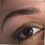 Перманентный макияж бровей 24.10.2019 №004 -permanent eyebrow makeup- tatufoto.com