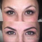 Перманентный макияж бровей 24.10.2019 №009 -permanent eyebrow makeup- tatufoto.com