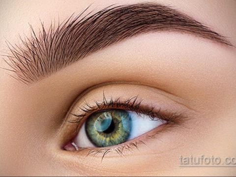 Перманентный макияж бровей 24.10.2019 №013 -permanent eyebrow makeup- tatufoto.com