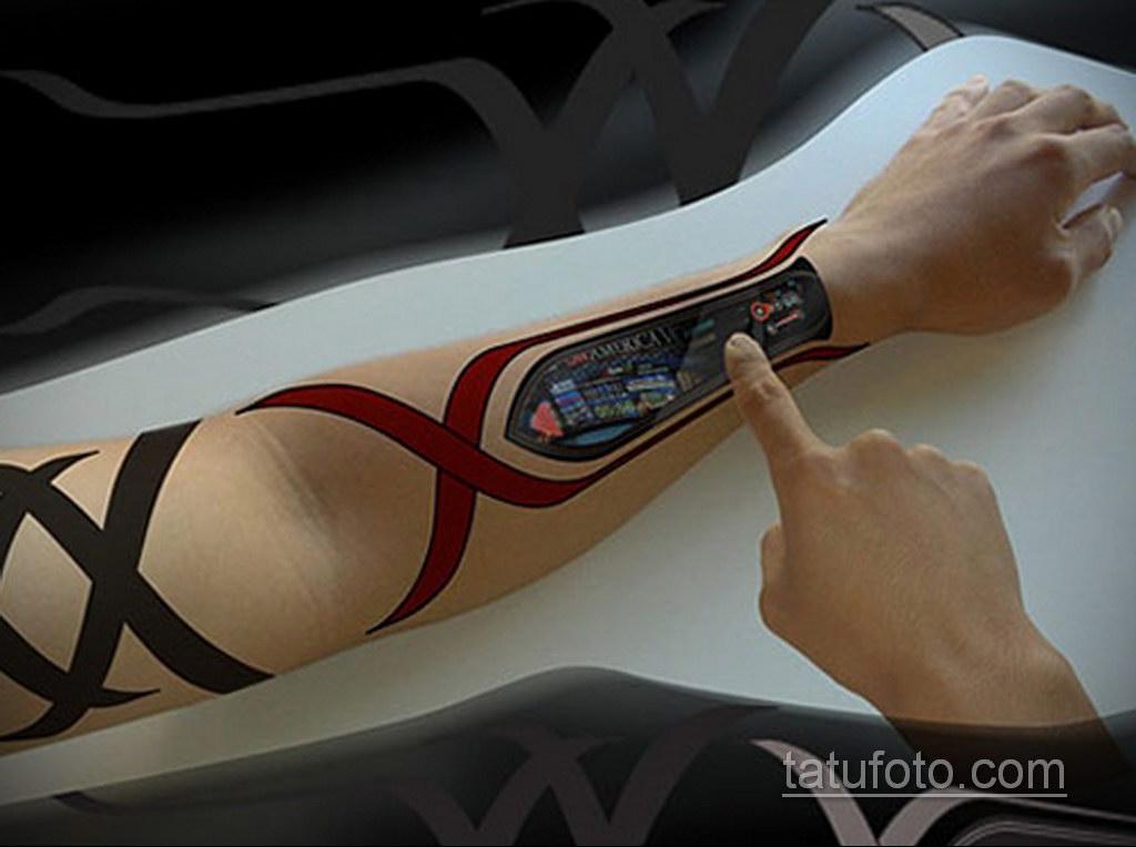 Невероятные технологичные татуировки