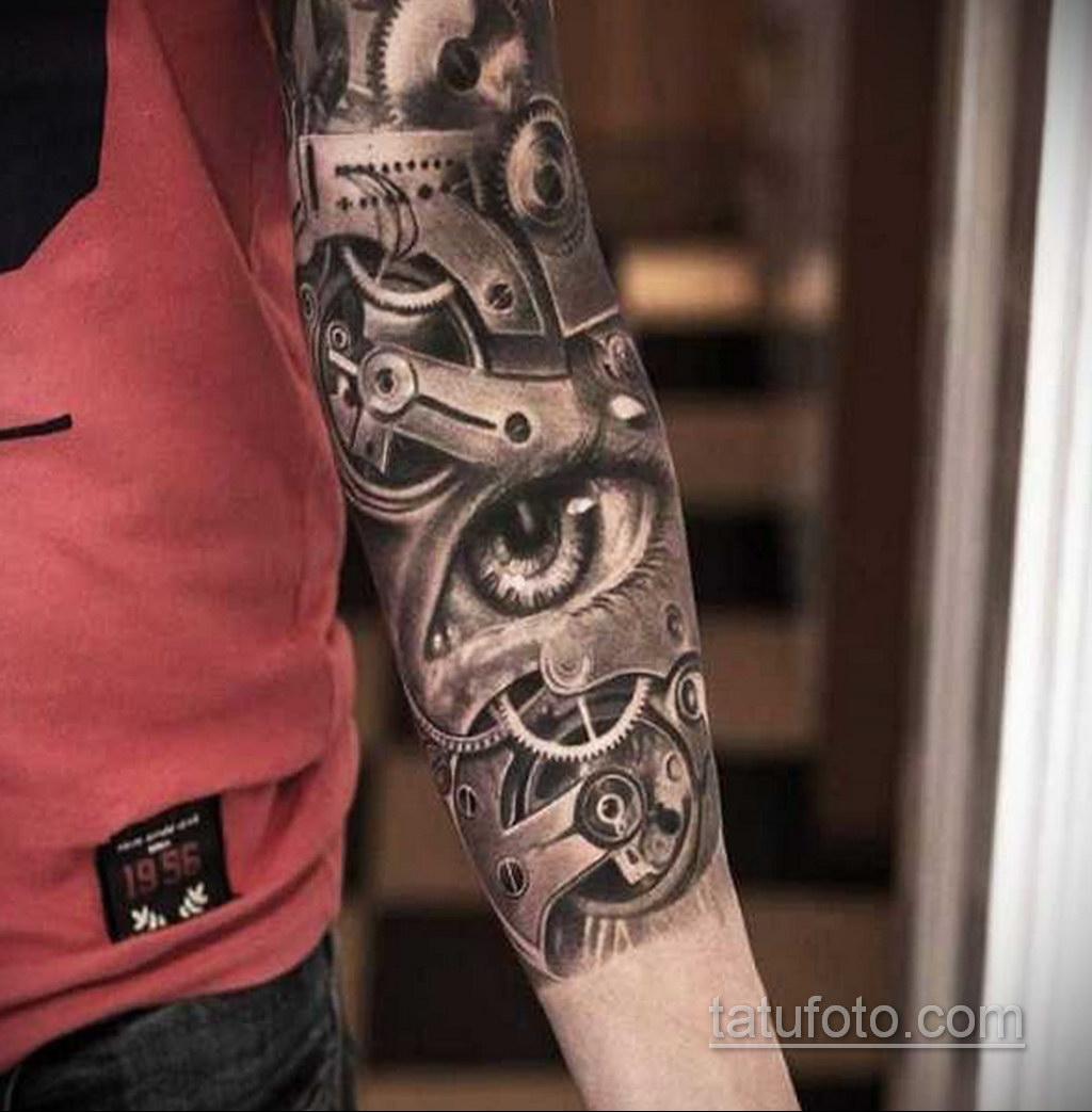 женские тату биомеханика 31.10.2019 №016 - biomechanics tattoo - tatufoto.com