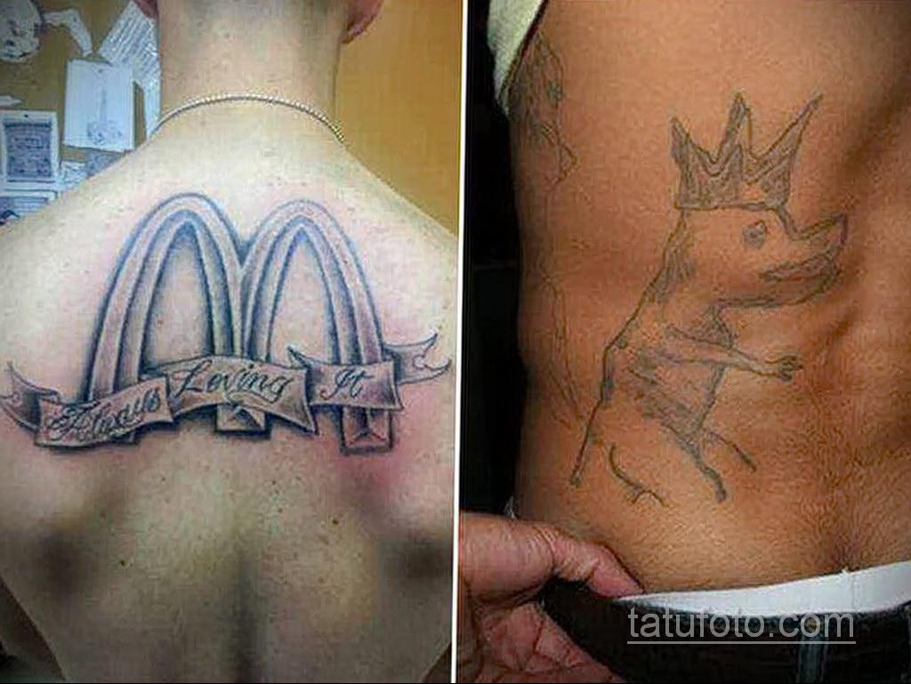 неоднозначный рисунок татуировки 03.10.2019 №019 -ambiguous tattoo- tatufoto.com