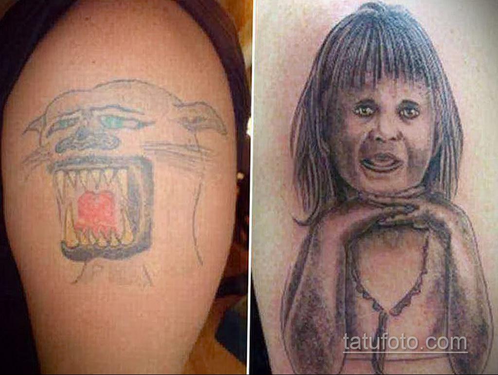 неоднозначный рисунок татуировки 03.10.2019 №020 -ambiguous tattoo- tatufoto.com