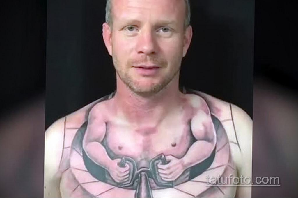 неоднозначный рисунок татуировки 03.10.2019 №057 -ambiguous tattoo- tatufoto.com