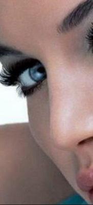 перманентный макияж стрелки 24.10.2019 №005 -permanent makeup- tatufoto.com