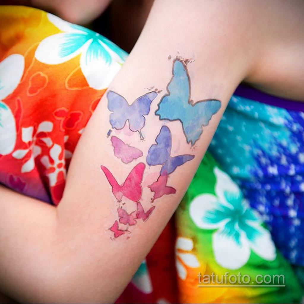 пример временной тату сделанной дома 24.10.2019 №008 -temporary tattoo- tatufoto.com