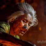 древняя индийская татуировка 22.11.2019 №009 -ancient indian tattoo- tatufoto.com