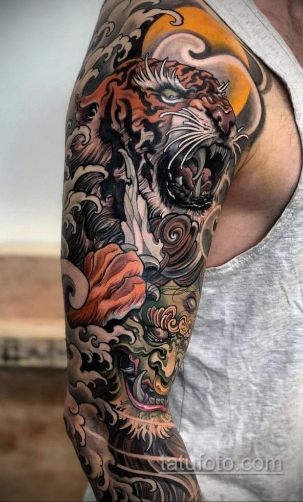 ориентал тату 26.11.2019 №001 -oriental tattoo- tatufoto.com