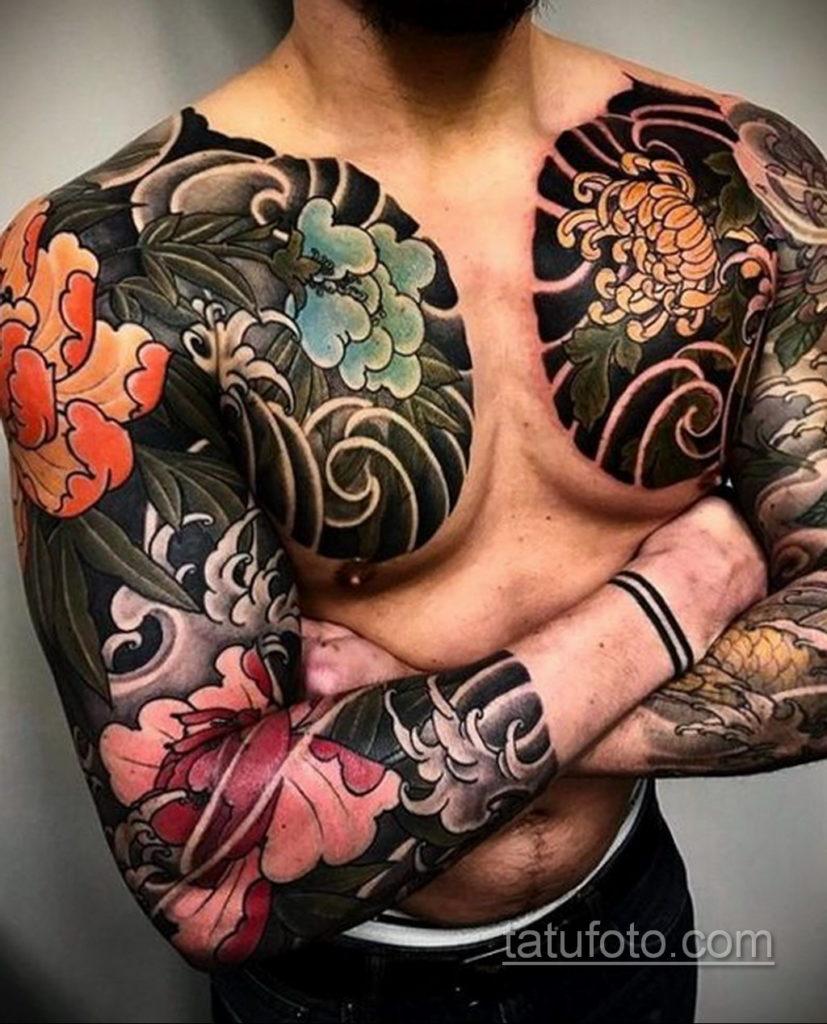 ориентал тату 26.11.2019 №052 -oriental tattoo- tatufoto.com