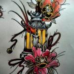 ориентал тату 26.11.2019 №059 -oriental tattoo- tatufoto.com