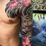 ориентал тату 26.11.2019 №061 -oriental tattoo- tatufoto.com