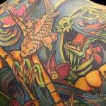 ориентал тату 26.11.2019 №062 -oriental tattoo- tatufoto.com