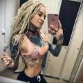 осуждение и одобрение женской тату 22.11.2019 №001 -female tattoo- tatufoto.com