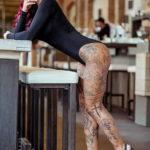 осуждение и одобрение женской тату 22.11.2019 №012 -female tattoo- tatufoto.com