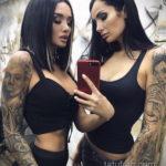 осуждение и одобрение женской тату 22.11.2019 №013 -female tattoo- tatufoto.com