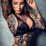 осуждение и одобрение женской тату 22.11.2019 №014 -female tattoo- tatufoto.com