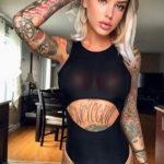осуждение и одобрение женской тату 22.11.2019 №015 -female tattoo- tatufoto.com