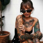осуждение и одобрение женской тату 22.11.2019 №022 -female tattoo- tatufoto.com